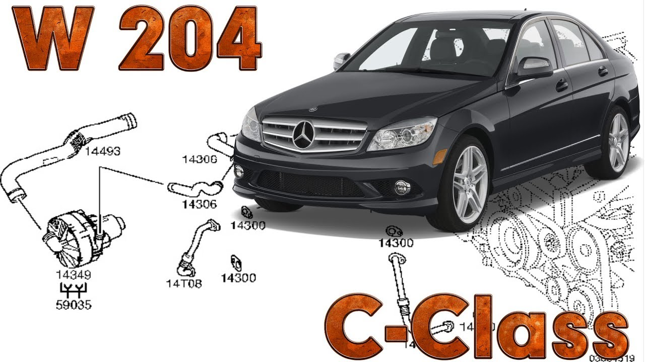 C-Class (W204) | Fault locations | Secondary air injection