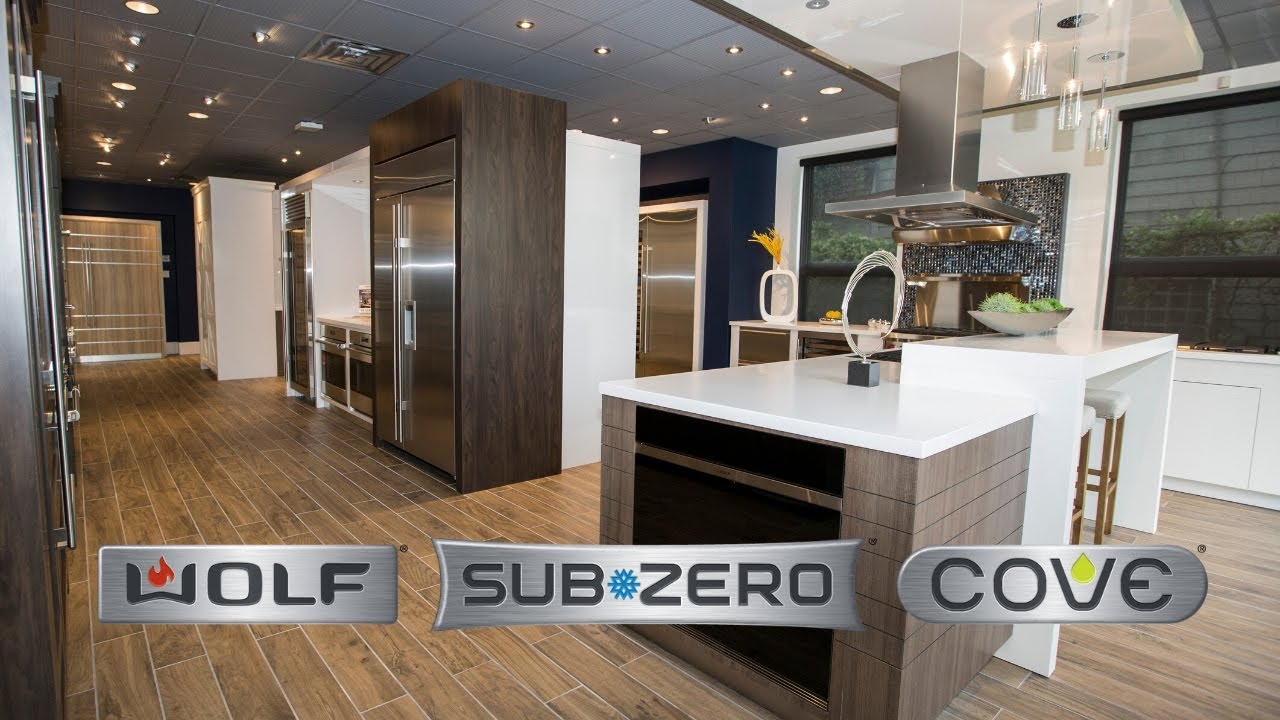 Experience sub zero wolf cove at designer appliances in