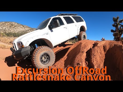 Ford Excursion  Crushes Rattlesnake Canyon