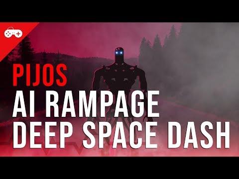 Os Piores Jogos da Steam - o futuro é PIJOS com AI Rampage e Deep Space Dash