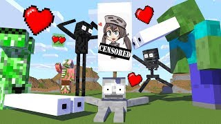 Monster School  Giant DRAW NG Challenge   Minecraft Animation