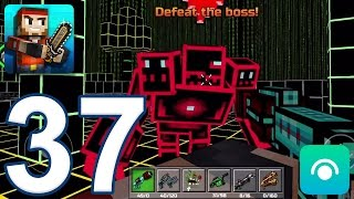 Pixel Gun 3D - Gameplay Walkthrough Part 37 - All Bosses (iOS, Android)