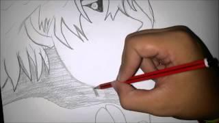 Dibujo rapido de kaneki   tokyo ghoul