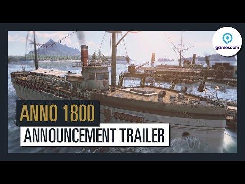 Anno 1800 - Offizieller Ankündigungs-Trailer - Gamescom 2017 | Ubisoft [DE]