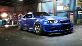 Need for Speed Payback | Skyline R34 Drift Build