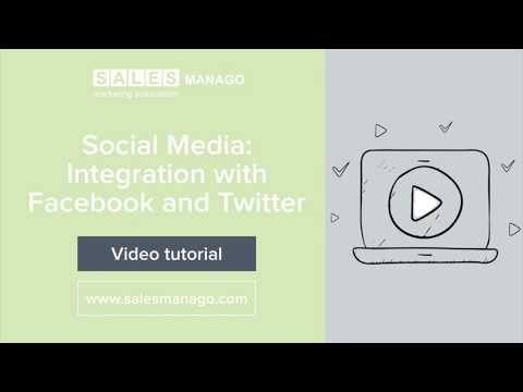 Social Media: Integration with Facebook and Twitter