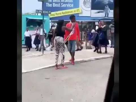 Download Woman beat man in Kingston Jamaica