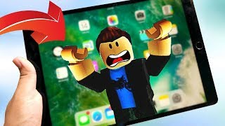 I HAVE TO ESCAPE AN IPAD! Roblox!
