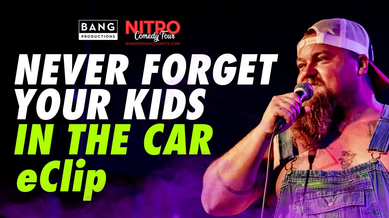 COMEDIAN CATFISH COOLEY: NEVER FORGET YOUR KIDS IN THE CAR E-CLIP - COMEDY FUNNY LAUGH