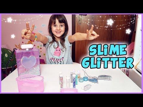 Esperimenti con lo Slime Glitter 😄 (Glam Goo)