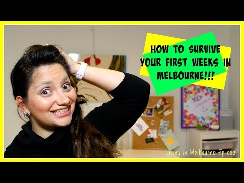 How to survive your first weeks in Melbourne | LIM Ep 022 ✍ Sub Español
