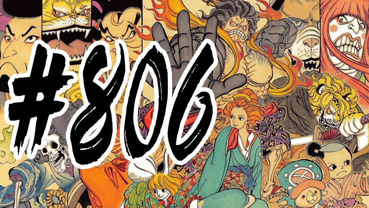 SdR Live - ONE PIECE Capitolo 806 - YouTube