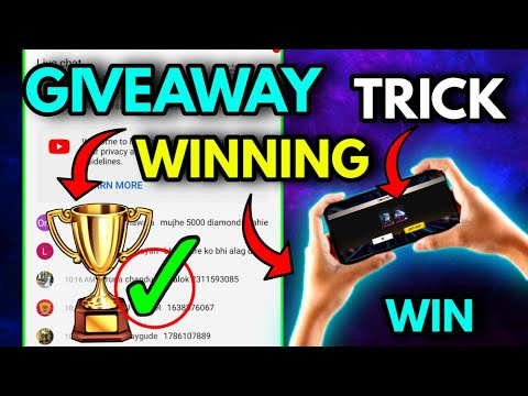 Download How to Win any Random Comment Giveaway in Free Fire   Latest Trick   How to Win any Giveaway 2021