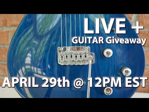 FULLY Understand the Fretboard (LIVE Webcast + FREE Guitar Giveaway)