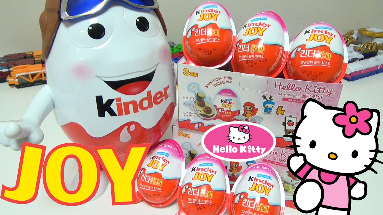 kinder joy hello kitty series kinder chocolate surprise eggs mascot doll unboxing review youtube. Black Bedroom Furniture Sets. Home Design Ideas
