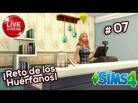 Directo 🔴 Sims 4    RETO de Huérfanos #7: ¡Abrimos un negocio!