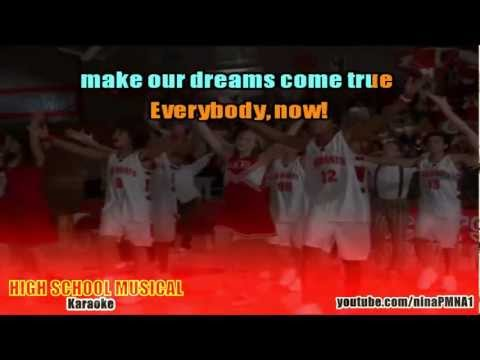 KARAOKE We're All in This Together - High School Musical