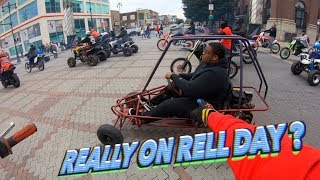 HE REALLY RODE THIS ON RELL DAY ! (HE