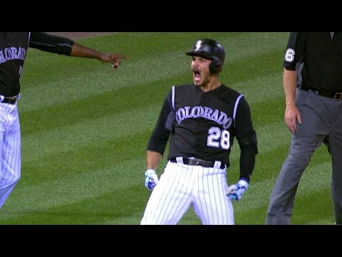 6/20/17: Arenado leads the Rockies to a 4-3 win
