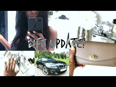 NEW CAR, FIRST MULBERRY PURSE, WHY I DON'T WANT TO BE A YOUTUBER?! BOOKS & SELF EMPLOYMENT