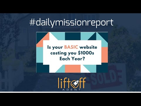 #missionreport  Is Your BASIC Website Costing you $1000s Each Year?