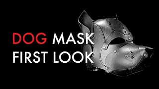 dog mask first look