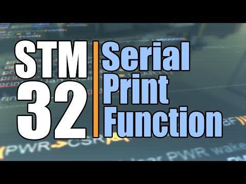 STM32 Print Function For Debugging