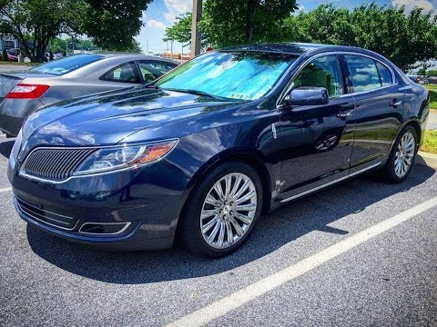2014 Lincoln MKS 3.7 Oil Change