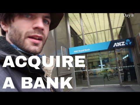 Getting an AUSTRALIAN BANK ACCOUNT and random Melbourne night stuff
