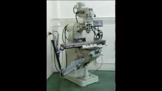 Types of Knee and Column Milling Machines