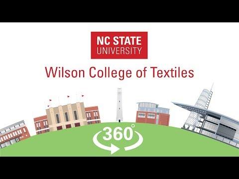 Nc State 360 Wilson College Of Textiles Senior Design Lab Youtube