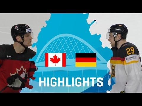 Canada - Germany   Highlights   #IIHFWorlds 2017