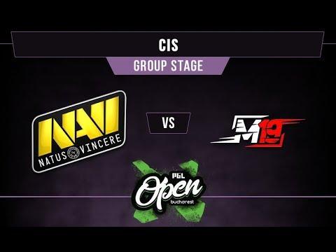 NaVi vs M19 Game 1 - PGL Bucharest CIS Qual. Group A -@dragondropdota @nephsensei @DeltaFoxBravo