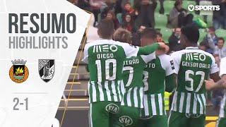 Highlights   Resumo: Rio Ave 2-1 Vitória SC (Liga 18/19 #29)
