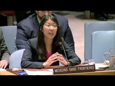 Joanne Liu's Speech to the UN Security Council