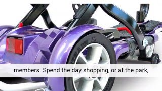 EV Rider Transport Folding Mobility Travel Scooter For Elderly
