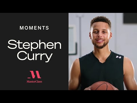 Where Stephen Curry aims