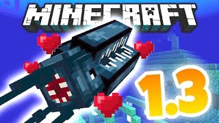 NEW MONSTER MOB COMING TO MINECRAFT! (Minecraft 1.3 NEWS)