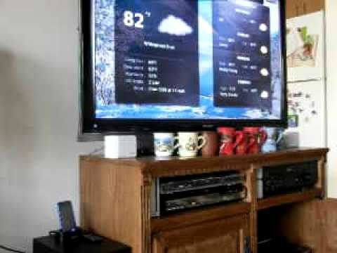 XBMC media center home network setup