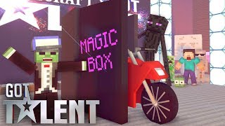Monster school : Got talent - minecraft animation