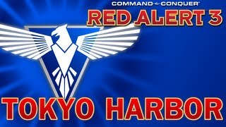 Command & Conquer: Red Alert 3 Co-Op - Allies Mission 7, Tokyo Harbor