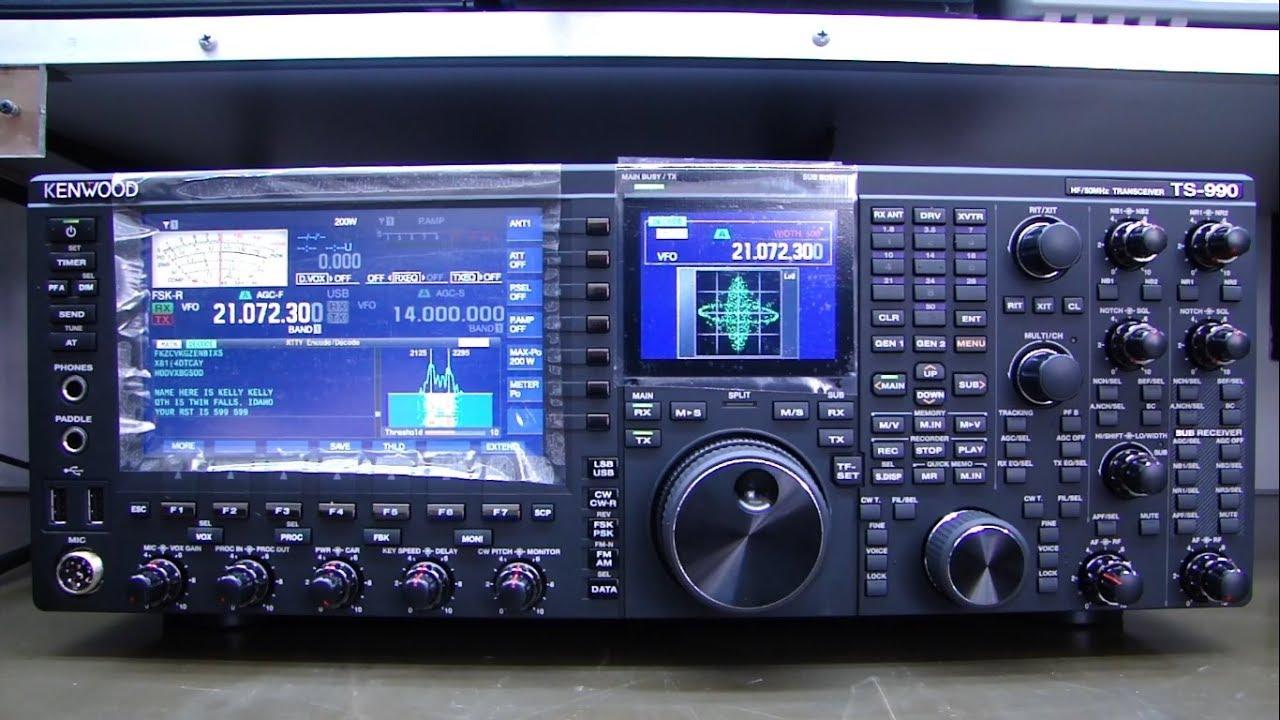 ALPHA TELECOM: KENWOOD TS-990 DANIFICADO NO TRANSPORTE, ALINHAMENTO TX e DEMONSTRAÇÃO FUNCIONAMENTO
