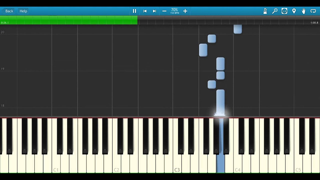 Science Blaster Game Theory Opening Theme Piano Arrangement