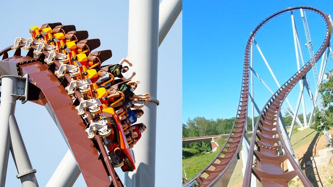 Hersheypark Candymonium Roller Coaster Front Seat POV
