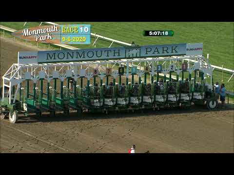 video thumbnail for MONMOUTH PARK 09-06-20 RACE 10