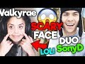 VALKYRAE'S SCARY FACE, DUO WITH SONYD - Fortnite FUNNY & SAVAGE Moments #15