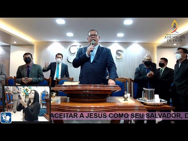Culto de Doutrina - AD São Miguel dos Campos/AL | 28/08/2020 (Acessível em Libras)