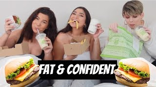 FAT B*TCHES TALK CONFIDENCE & BODY ACCEPTANCE // shake shack mukbang