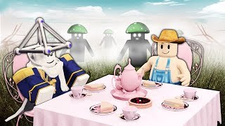 Roblox's disturbing tea party...