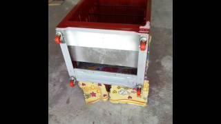 Reciclando el refrigerador viejo en guardarropa-Recycling ol...